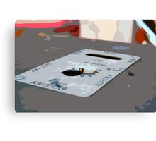 Even Cartoons Are Lazy Canvas Print