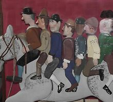 Widecombe Fair - Uncle Tom Cobley and all by David Kirkham