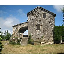 Old house in the Aveyron Photographic Print