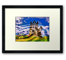 Abstract Whitby Abbey Framed Print