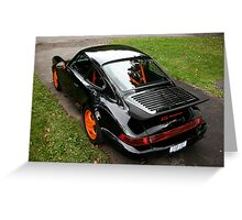 Porsche 911 RS America Greeting Card