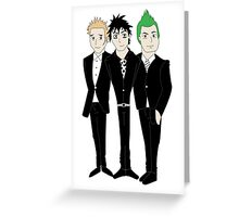 Green Day Greeting Card