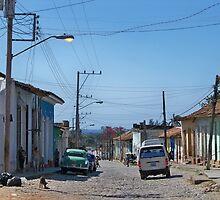 Main Street, Trinidad, Cuba by Lynn Bolt