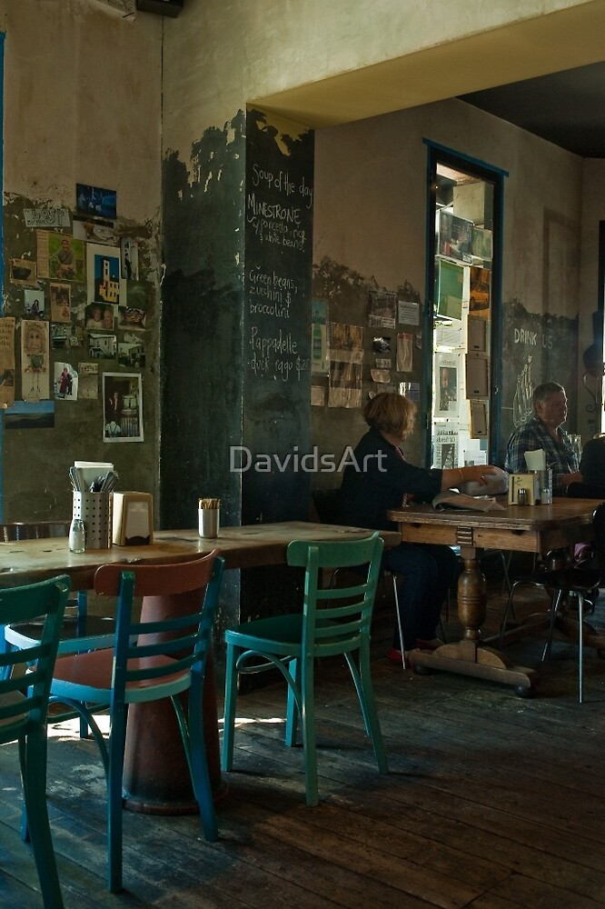 0377 Morning Coffee & a Chin Wag by DavidsArt