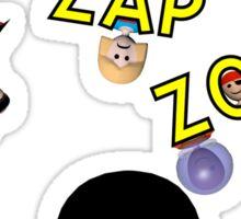 Zip Zap Zop Sticker