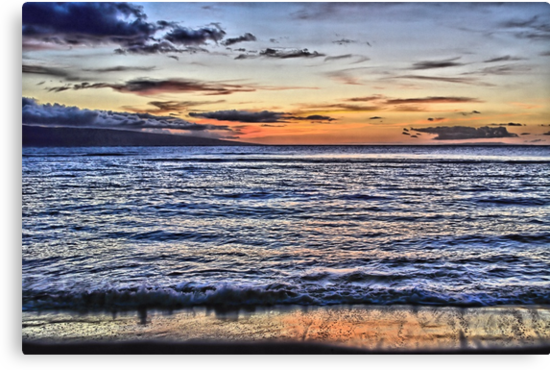 A Western Maui Sunset by djphoto