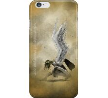 Crouching Angel iPhone Case/Skin