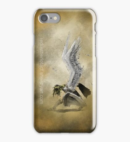 Crouching Angel iPhone Case/Skin