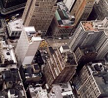 Looking Down from the Empire State Building by Duncan Rowe
