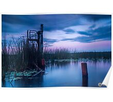 Tranquil Lake Reflections Poster