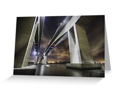 Brisbane's Gateway Bridge Greeting Card