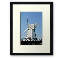 Rye Windmill, East Sussex Framed Print