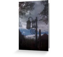 Sky Light Greeting Card