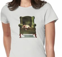 Monkey the Cat Womens Fitted T-Shirt
