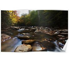 Mountain Creek - Great Smoky Mountains National Park, Tennessee Poster