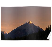 Sunrise in Kananaskis, Alberta, Canada Poster