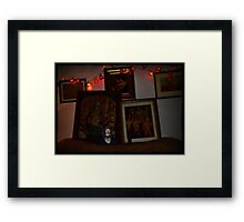 when mary met mary Framed Print