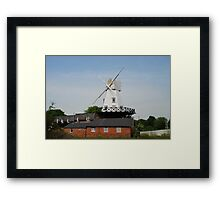 Wooden windmill, Rye Framed Print