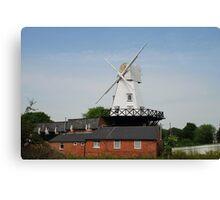 Wooden windmill, Rye Canvas Print