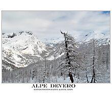 alpe devero Photographic Print