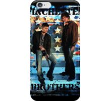 Sam & Dean Winchester - on the Road iPhone Case/Skin
