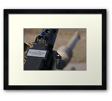 M2 Browning .50 Cal Framed Print