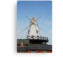 Smock windmill, Rye Canvas Print