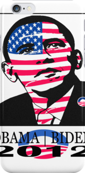 2012 OBAMA | BIDEN ELECTION iPHONE CASE by SOL  SKETCHES™