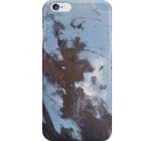 Rough Blue Nebula iPhone Case/Skin