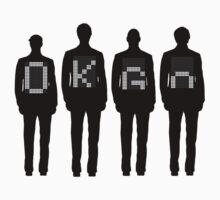 Tim, Damian, Dan & Andy Baby Tee