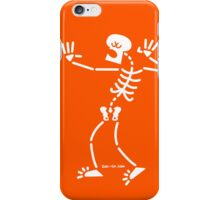 Singing Skeleton iPhone Case/Skin