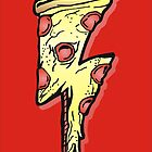 Rock -n- Roll Pizza by BUB THE ZOMBIE