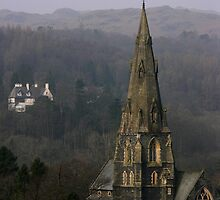 Ambleside Church by LonnieMullen