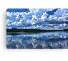 Lake With Sprinkles Canvas Print