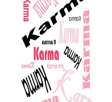karma karma karma IPHONE CASE by Dee-Karma-Arts