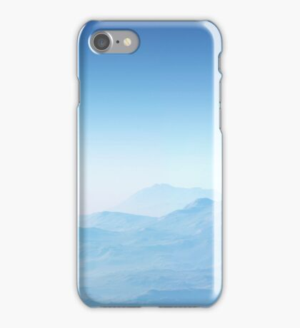 Misty Blue Mountains - phone Case iPhone Case/Skin