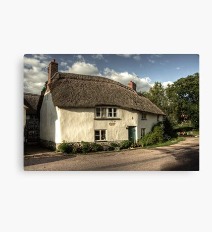 A Devon cottage Canvas Print