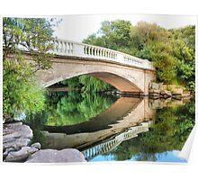 Reflections Through the Bridge  Poster