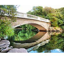 Reflections Through the Bridge  Photographic Print