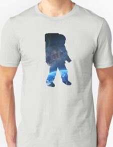 Space Man  - Astronaut Abstract Unisex T-Shirt