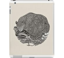 Jaguar Ink illustration iPad Case/Skin