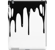 BLACK DRIPPAGE iPad Case/Skin