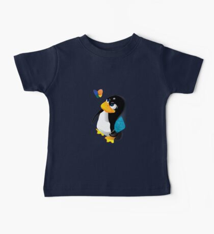 What are you doing, Tux? Baby Tee