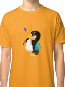 What are you doing, Tux? Classic T-Shirt