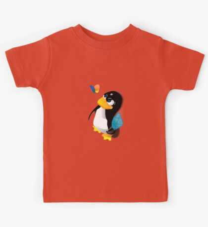 What are you doing, Tux? Kids Tee