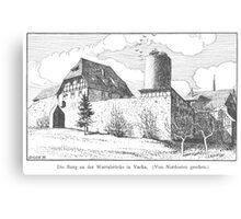 Georg Lilie Vacha Burg Canvas Print