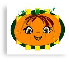 Happy Halloween Smile To You Canvas Print