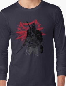 The Witcher sumi-e Long Sleeve T-Shirt