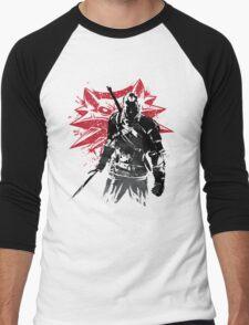 The Witcher sumi-e Men's Baseball ¾ T-Shirt