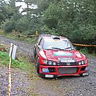 Andy Burton/Robin Kellard - Peugeot Cosworth - Cambrian Rally 2011 by MSport-Images